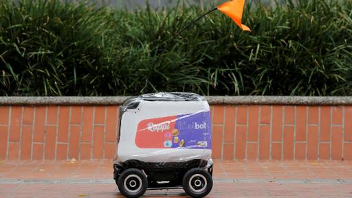 Rappi começa testes de robôs entregadores de encomendas na Colômbia