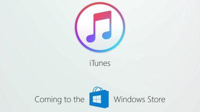 iTunes também fará parte do catálogo da Windows Store