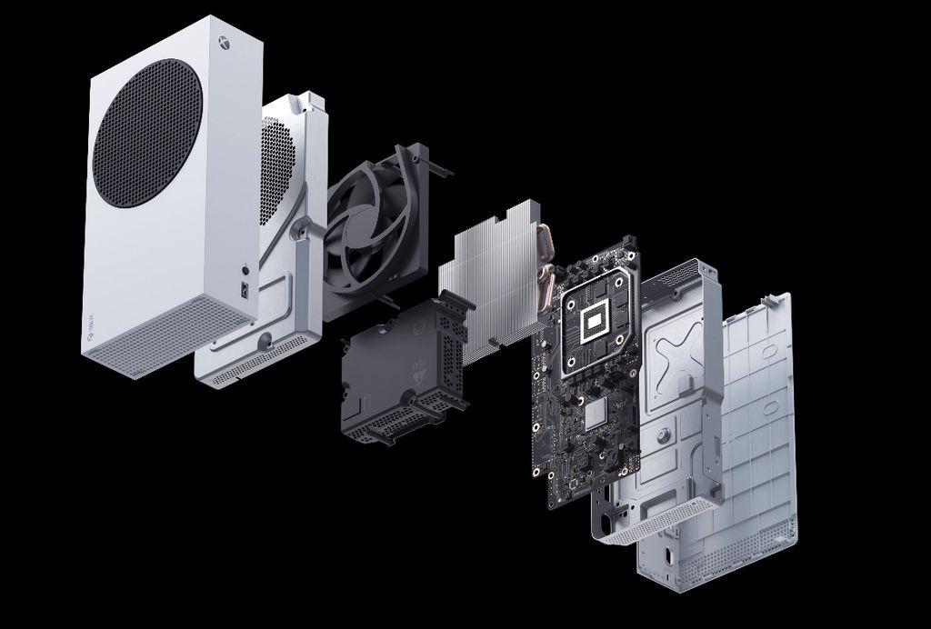Remoção do leitor de disco e redução de especificações permitiu a Microsoft retrabalhar o design físico e técnico do Xbox Series S