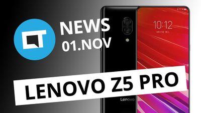 Lenovo Z5 Pro com tela deslizante; Anúncios no Status o WhatsApp e+ [CT News]