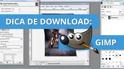 GIMP - O Photoshop gratuito [Dica de Download]