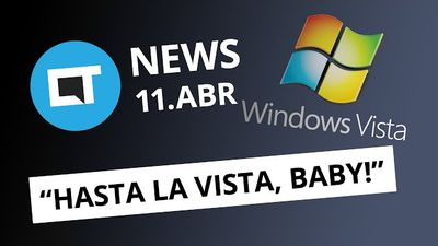 Fim do suporte ao Windows Vista; PewDiePie no Twitch; Xiaomi Mi 6 e+ [CT News]