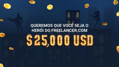 Concurso Herói do Freelancer.com vai dar prêmios de US$ 25 mil