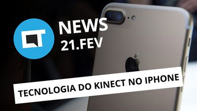 iPhone com tecnologia do Kinect; Note 7 de volta; Galaxy S8 e + [CTNews]