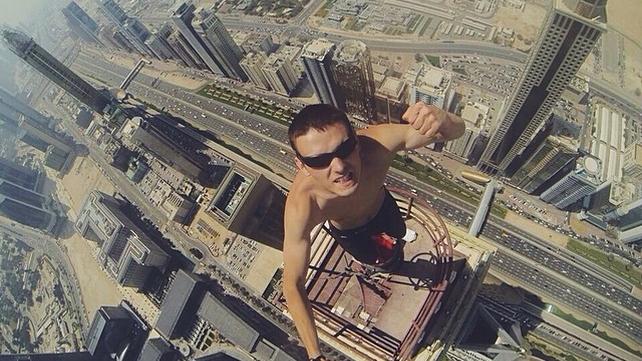 10 selfies perigosas e extremas