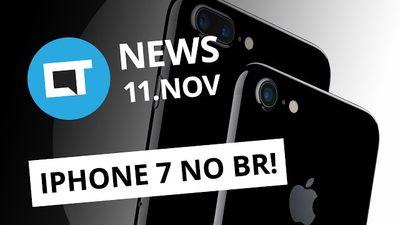 Vendas do iPhone 7 no Brasil; Spotify lota PCs com dados inúteis e + [CTNews]