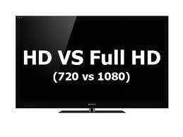 HDTV vs Full HD