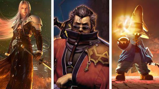 Os 10 melhores personagens de Final Fantasy