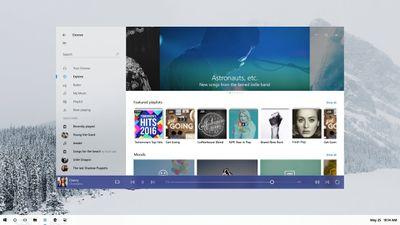 Microsoft revela primeira imagem do novo design do Windows 10