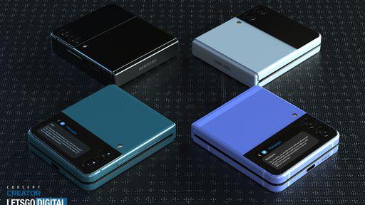 Samsung Galaxy Z Flip 3 surge em novas imagens com alma de Google Pixel