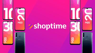Compre agora os novos smartphones Galaxy M a partir de R$ 899 no Shoptime