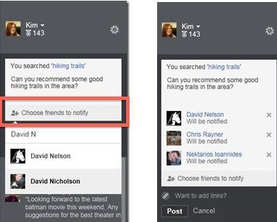 Bing ferramenta marcação Facebook