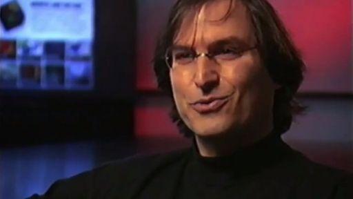 Entrevista perdida de Steve Jobs está disponível no iTunes