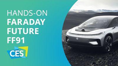 FF91: Faraday Future quer bater de frente com a Tesla [CES 2017]
