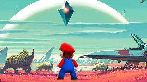 'No Mario's Sky' é exatamente o jogo que você pode imaginar