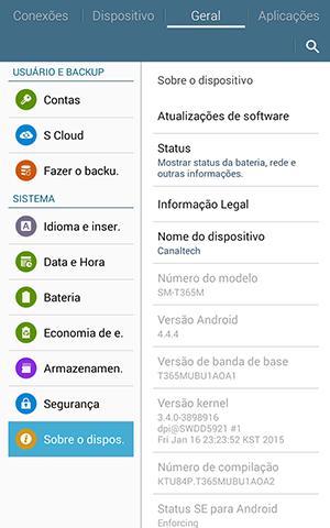 Samsung Galaxy Tab Active -  Screenshots