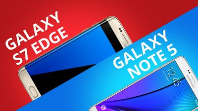 Galaxy S7 Edge VS Galaxy Note 5 [Comparativo]
