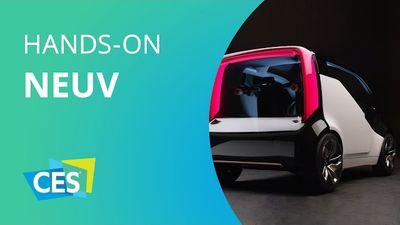 Honda NeUV: o conceito da montadora para carros elétricos e autônomos [CES 2017]