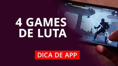 4 jogos de luta para celular #DicaDeApp
