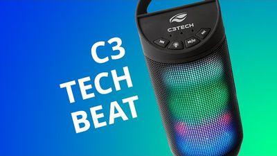 C3Tech Beat: uma caixa de som com LEDs para você fazer uma festinha em casa