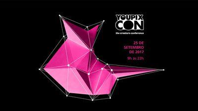 YOUPIX CON acontece no dia 25 de setembro; confira as principais atrações