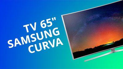 """Samsung 4K Curved Smart TV 65"""" (JS9000) [Análise]"""