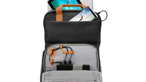 HP cria mochila capaz de recarregar bateria de notebooks, smartphones e tablets