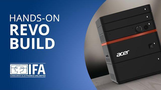 Revo Build: o computador modular da Acer [Hands-on | IFA 2015]
