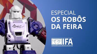 Robôs: imaginação colocada a prova [Especial | IFA 2015]