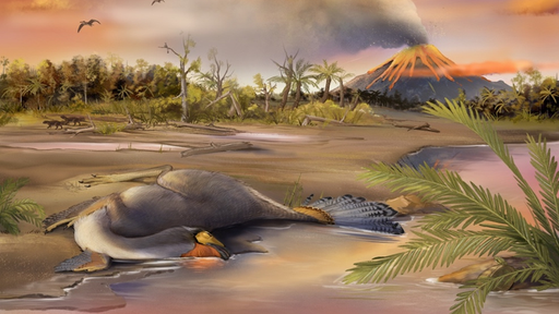 Fóssil bem preservado encontrado na China pode conter DNA de dinossauro