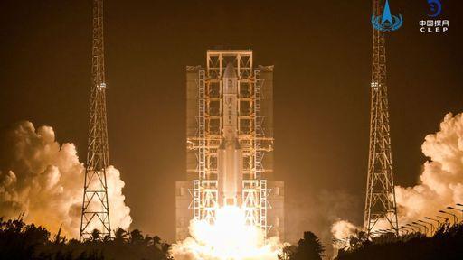 Histórico: China lança missão Chang'e 5 para coletar amostras da Lua