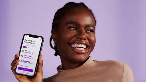 Nubank agora permite transferências internacionais direto do app