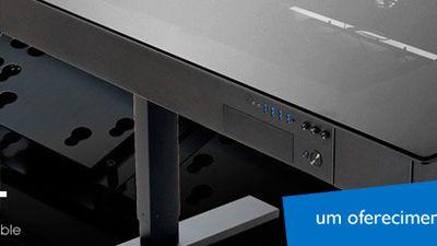 Conheça a mesa DK-04: passar horas em frente ao PC não será mais problema