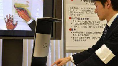 Fujitsu apresenta novo conceito de scanner que transforma a mão em um mouse