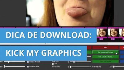 KICK MY GRAPHICS - Faça GIFs de maneira fácil! [Dica de Download]