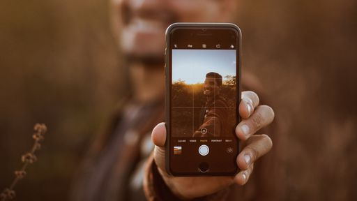 Como gravar Stories com o fundo desfocado no iPhone