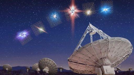 Rajadas rápidas de rádio ajudarão a mapear distribuição de matéria no universo