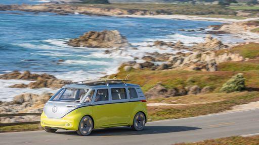 Este pode ser o visual do Volkswagen ID.Buzz, a Kombi elétrica