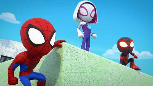 Spidey é a primeira série da Marvel para crianças em idade pré-escolar