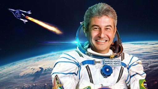 Marcos Pontes: de guia turístico a entusiasta brasileiro do turismo espacial
