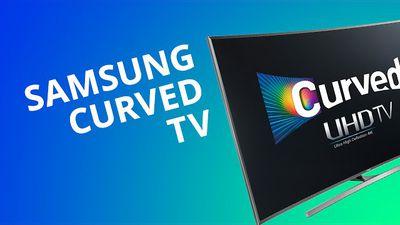 """SmartTV Samsung 4K 55"""" curva (série 7500): objeto de decoração na sua sala [Anál"""