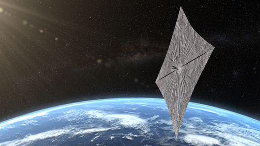 Vela solar LightSail 2 se comunica com a Terra e diz que está tudo bem
