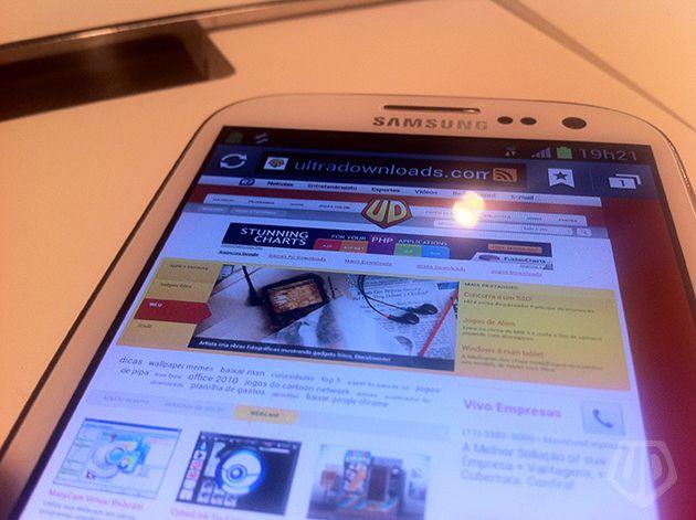 Galaxy S III (Foto: André Fogaça/Ultra Downloads)