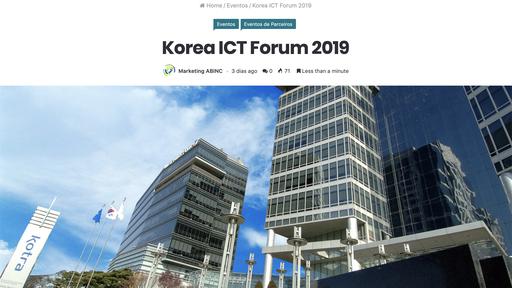 Coreia do Sul apresenta ao Brasil Inovações e Tendências da sua Indústria 4.0