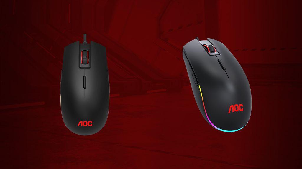 AOC GM500 é a oferta intermediária de mouse focado no público gamer que busca custo-benefício