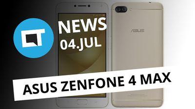 Zenfone 4 Max tem bateria de 5.000 mAh; Mercado Livre boicota Switch e+ [CT News