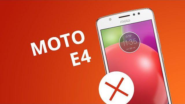 c976f84f1c 5 motivos para você NÃO comprar o Moto E4 - Vídeos - Canaltech