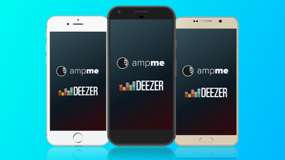 Deezer e AmpMe fazem parceria para conectar vários smartphones no mesmo ambiente