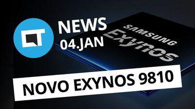 Exynos 9810, o chip do Galaxy S9; Lojas da Apple com preços em Real e+ [CT News]