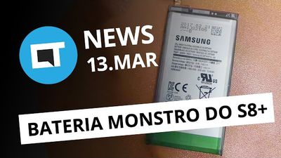 Bateria monstro do Galaxy S8+; vendas LG G6; Viber copia Snapchat e + [CTNews]